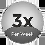 3x Per Week